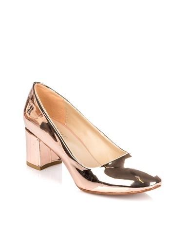 Pembe Potin Ayakkabı Pembe